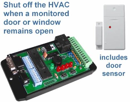 Hvac Shutoff Door Window Monitoring