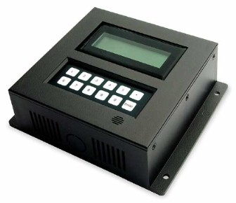 Employee Time and Attendance Terminal - (shown with magstripe and proximity readers)